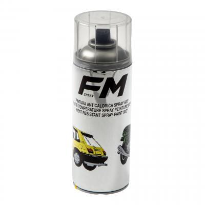 Bombe de peinture transparente haute température FM Spray 600°C 400ml