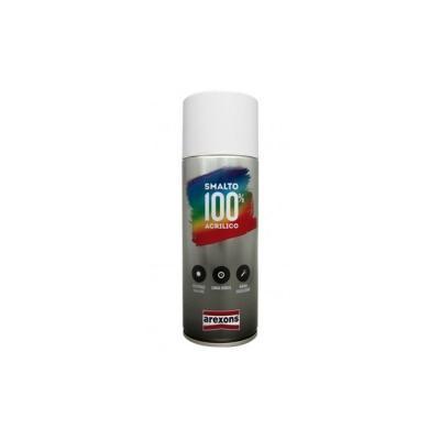 Bombe de vernis Arexons noir / fumé transparent spécial 100% acrylique - 400 ml