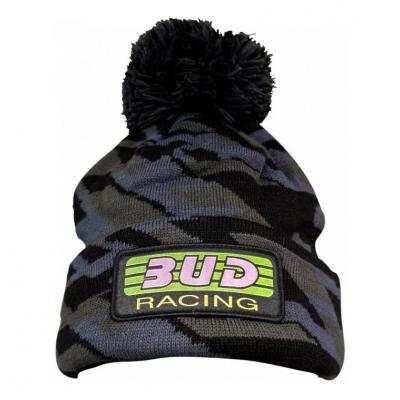 Bonnet Bud Racing Pom noir