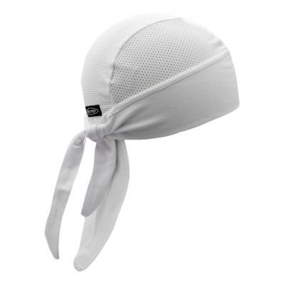 Bonnet de casque Shampa & Dirt Skins Tri-Danna Wide-B Vneted blanc