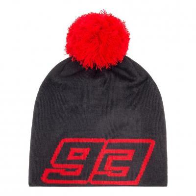 Bonnet Marc Marquez 93 noir/rouge