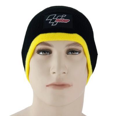 Bonnet MotoGP noir / jaune
