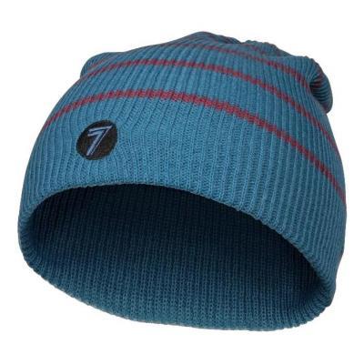 Bonnet Seven Descent steel/bordeaux