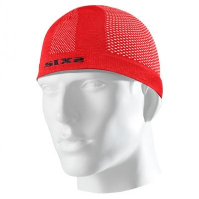 Bonnet sous-casque Sixs SCX rouge