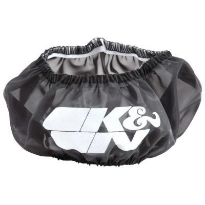 Bonnet sur-filtre à air K&N pour filtre HD-0700 Harley Davidson noir