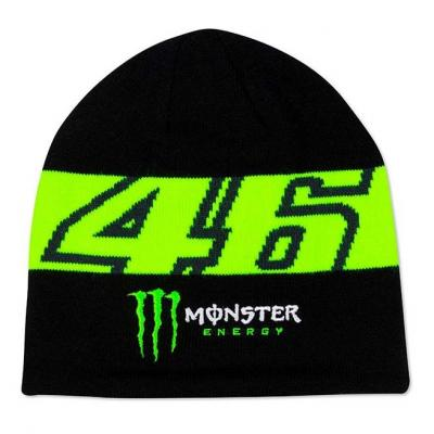 Bonnet VR46 Dual Monster noir/jaune 2020
