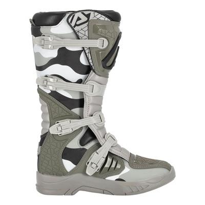 Bottes cross Acerbis X-Team camouflage brun/gris
