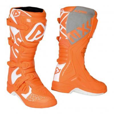 Bottes cross Acerbis X-Team orange/blanc
