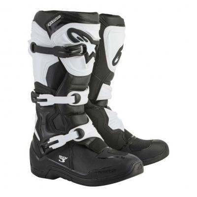 Bottes cross Alpinestars Tech 3 noir/blanc