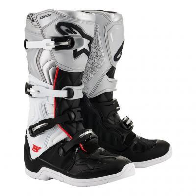 Bottes cross Alpinestars Tech 5 Victory Limited Edition gris/noir