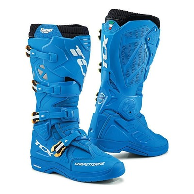 Bottes cross TCX Comp Evo 2 Michelin bleu indigo/bleu