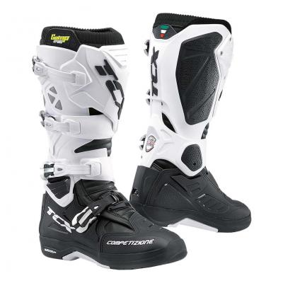 Bottes cross TCX Comp Evo 2 Michelin noir/blanc