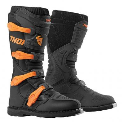 Bottes cross Thor Blitz XP noir/orange