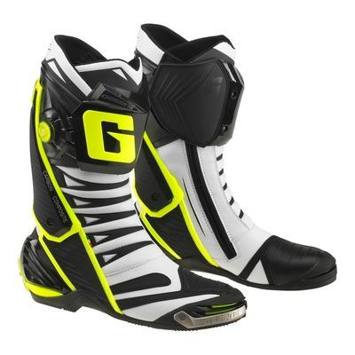 Bottes piste Gaerne GP1 EVO blanc/noir/jaune