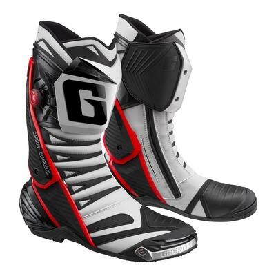 Bottes piste Gaerne GP1 EVO gris nardo/rouge
