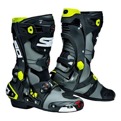 Bottes Sidi Rex gris/noir/jaune