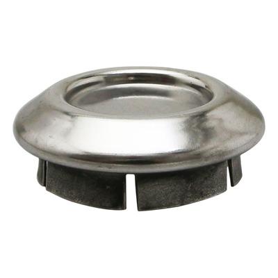 Bouchon cabochon de roue chromé 1C000523 pour l'ensemble de la gamme Piaggio