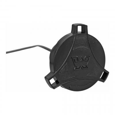 Bouchon d'essence à pousser noir avec logo MBK 51