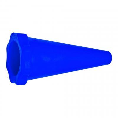 Bouchon de pot d'échappement RTech 40-65mm bleu