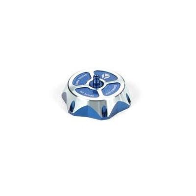Bouchon réservoir YCF aluminium bleu