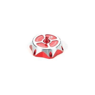 Bouchon réservoir YCF aluminium rouge