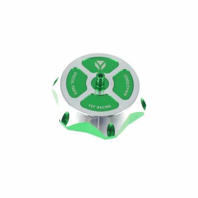 Bouchon réservoir YCF aluminium vert
