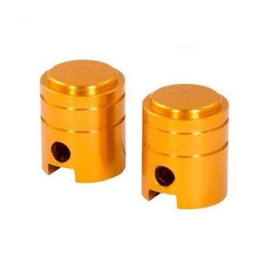 Bouchons de valve forme de piston ors