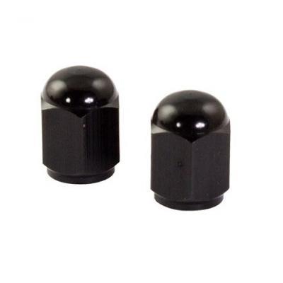 Bouchons de valve forme hexagonale noirs