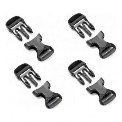 Boucles de fermeture à clips Enduristan Family 25 mm (4 paires)