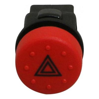 Bouton de warning 58284R pour Piaggio 125-250-400 MP3 / Aprilia 250-300-400-500 Scarabeo