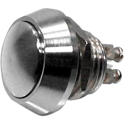 Boutons de remplacements boîtier Motogadget switch Ø12 mm chrome