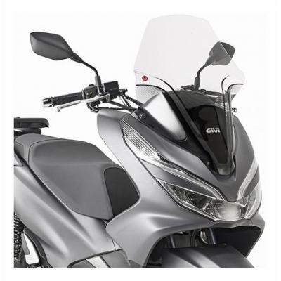 Bulle Givi Honda 125 PCX 18-19 incolore