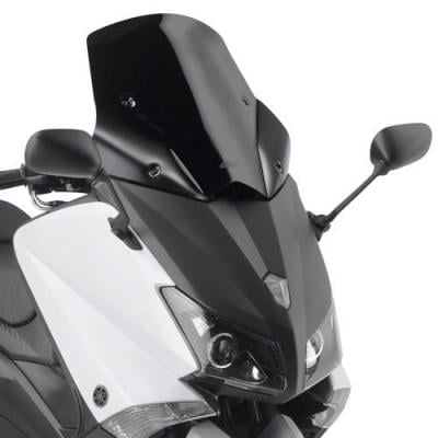 Bulle Givi sport Yamaha T-MAX 530 12-18 noir brillant/noir mat