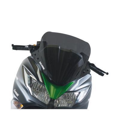 Bulle type sport fumée Malossi Kawasaki J300