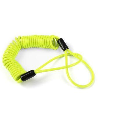 Câble anti-oubli d'antivol Lock Force Jaune