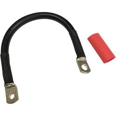 Câble de batterie Drag Specialties 254 mm noir