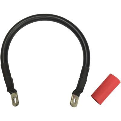 Câble de batterie Drag Specialties 305 mm noir