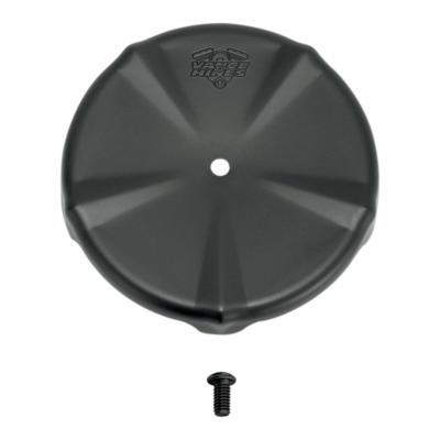 Cache filtre à air rond VO2 naked Ø 139,7mm (5,5') fixation vis centrale Harley Davidson chrome