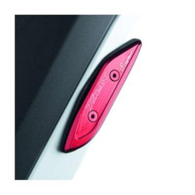Cache orifice de rétroviseur Lightech bleu pour Yamaha T-Max 530 12-16