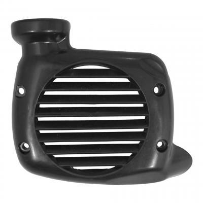 Cache turbine noir MBK Ovetto 4t 01-07/Yamaha Neos 4T 01-07