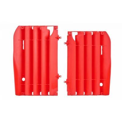 Caches de radiateur Polisport Honda CR 250R 02-07 rouge