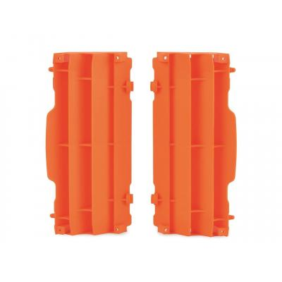 Caches de radiateur Polisport KTM 250 SX 07-16 orange