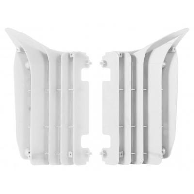 Caches de radiateur Polisport Yamaha 250 YZ-F 10-13 blanc
