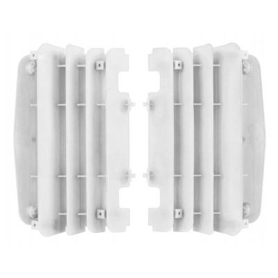 Caches de radiateur Polisport Yamaha 450 YZ-F 10-13 blanc