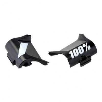 Caches de remplacement pour roll-off noir 100%