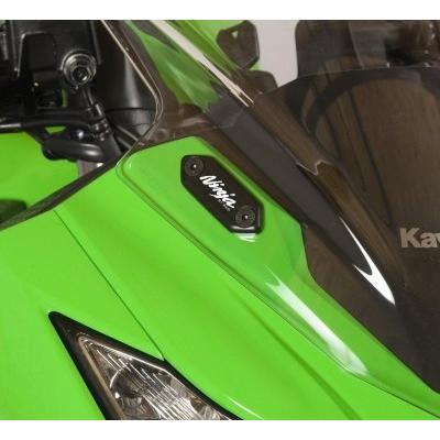 Caches orifices rétroviseurs R&G Racing noir Kawasaki ZX-6R 12-17