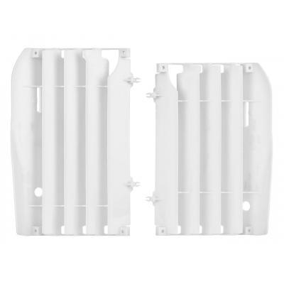 Caches radiateur Polisport Honda CRF 450R 09-12 blanc