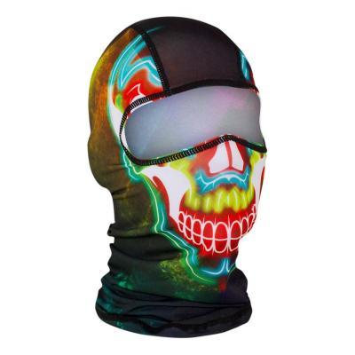 Cagoule hublot Zan Headgear Skull electric multicolore