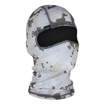 Cagoule hublot Zan Headgear Skull Winter camouflage blanc