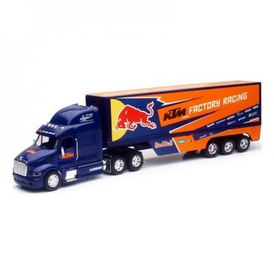 Camion Team KTM Red Bull 2017 1:32 NewRay bleu/orange